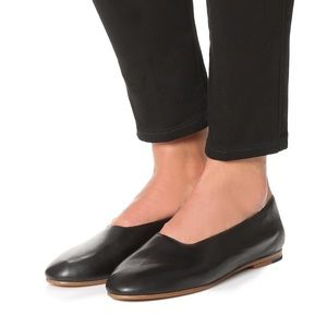 Vince Leather Maxwell Flats